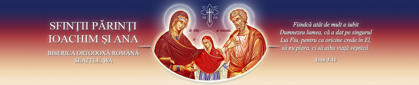 Sfinții Părinti Ioachim și Ana